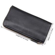 J.M.D Men's Genuine Leather Wallet Clutch Pouch Handbag Card Case Cell Phone Bag