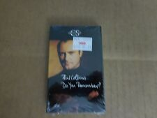 PHIL COLLINS DO YOU REMEMBER  FACTORY SEALED CASSETTE SINGLE