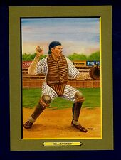 "#37 BILL DICKEY, Yankees~Perez-Steele Turkey Red/T3-style 5-3/4""x 8""cabinet card"