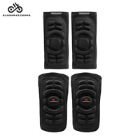 Ciclismo Ginocchiere Gomitiere Protettore MTB Bike Sport Knee Brace Elbow Guards