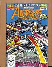Avengers West Coast # 5 - NEAR MINT 9.8 NM - Iron Man MARVEL Shop Comics