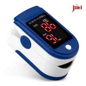 JZIKI LED Fingertip Pulse Oximeter SPO2 Pulse Rate Monitor Heart Beat Monitor