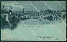 Verona Città Chiaro di Luna PIEGHINA cartolina QT4345