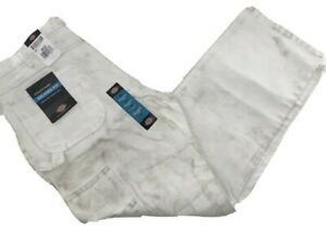 Dickies Men's Painter's Utility Pant Relaxed Fit, White, 38X32