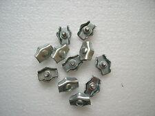 Simplexklemme 3mm Drahtseilklemme Simplex Klemme verzinkt  10 Stück.