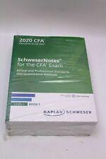 Kaplan SchweserNotes CFA 2020 Program Exam Prep Level I Buch 1-5 Exam Quicksh