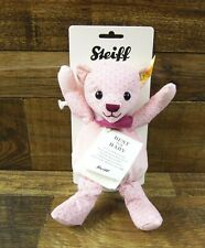 Steiff Best for Baby Pink Musical Bear With Purple Scarf 238154