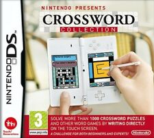 CROSSWORD COLLECTION ( Nintendo Presents ) NEW  Nintendo Ds Game 3ds dsi Puzzles