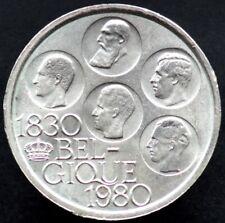 500 FRANCS 1980 BELGIQUE / BELGIUM / BELGIE - 150 ans indépendance - Cupro