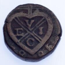 1825 India British Colony Bombay 1/2 Pice Coin (VF Condition) KM# 197
