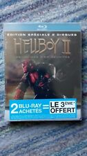 Hellboy 2 - The Golden Army Blu-ray FNAC French 2 Disc special edition, new