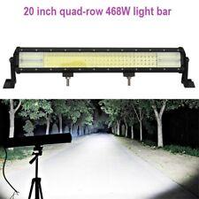 Best LED light bar 20 inch 468W quad-row for 4wd, off-road, car, truck, SUV, far