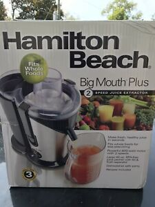 Hamilton Beach 67850 Premium Big Mouth Juice Extractor NEW!!