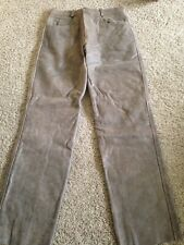 JAMIN LEATHER Men's Thick Lined Motorcycle Pants Size 36