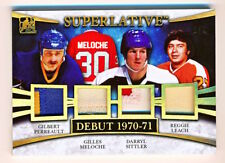2017-18 ITG Superlative Perreault Meloche Sittler Leach Gold Quad Patch (1/1)