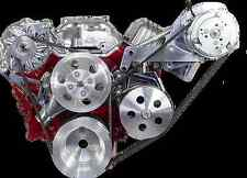 SB CHEVY AC DR SIDE FRONT ACCES BILLET DRESS UP KIT FOR LONG NOSE WP - CR-X015