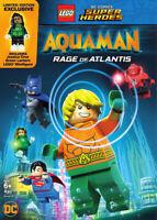 LEGO Aquaman - Rage of Atlantis DVD (2018) Matt Peters cert PG ***NEW***