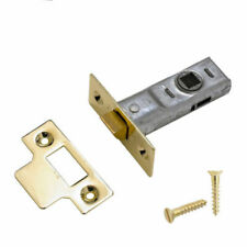 YALE TUBULAR DOOR LATCH Premium Anti Rattle Bolt Through Catch (L)43MM x(W)104MM