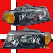 98 99 00 01 02 Lincoln Navigator OE Style Black Headlights Head Lamps RH + LH