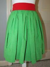 "Green Skirt Red Band Size 8-10 Waist 22-26"" Irish Jig Dance Competition"