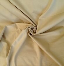 12 Metres Sanderson  Cotton Sateen Curtain Fabric  In Laura Ashley Pale Linen