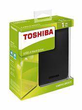Disco Duro Externo 2.5'' 1TB USB 3.0 PS4 Toshiba Canvio Basics 1000 GB HD Disk