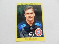 RAIMOND AUMANN (FC BAYERN MÜNCHEN 80-94) signed Photo 10x15 Weltmeister 1990
