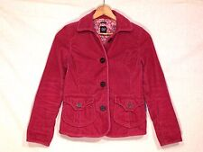 Gap fitted lined mulberry corduroy button jacket / women 2 / normal use / b21