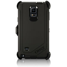OtterBox Defender Galaxy Note 4 Case & Holster Black Cover w/ Clip OEM Original