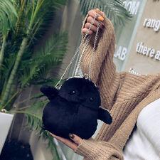 Women's Plush Chick Penguin Handbag Chain Shoulder Bag Crossbody Purse Gift