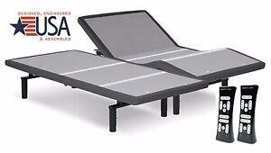 NEW 2020 SPLIT KING LEGGETT & PLATT SIMPLICITY 3.0 ADJUSTABLE BED**DUAL MASSAGE