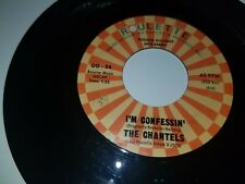 """THE CHANTELS I Love You So / I'm Confessin' ROULETTE 24 VINYL 7"""" RECORD"""