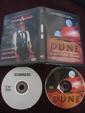Dune de David Lynch + Scanners de David Cronenberg, 2DVD, SF/Horreur