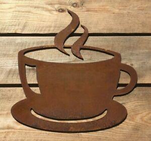 "Rusty ""TEA / COFFEE CUP"" Sign"