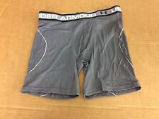 "UNDER ARMOUR 1254697 ISO-CHILL MESH 6"" MENS BOXERJOCK SMALL MSRP $25 GRAY"