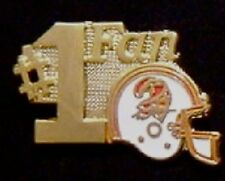 Tampa Bay Buccaneers Pin ~ #1 Fan ~ NFL ~ 80's vintage ~ Football