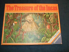 THE TREASURE OF THE INCAS- CHILDRENS BOARD GAME BY RAVENSBURGER IN 1988