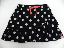 Roxy Kids Sz 5 Medium Skirts Infinite Black dots