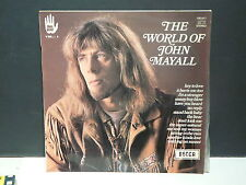 The world of JOHN MAYALL Blues power Vol 4 190017 Pressage France 05/70