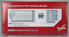 Herpa 083300 Abrollmulde Container flach Inhalt 2 Stück Scale 1 87 NEU OVP
