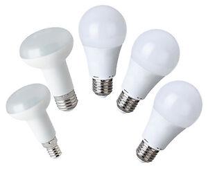 LED-Leuchmittel E27 E14 5W 7W 8W 11W 13W 15W Birne Lampe Leuchte Greenlux Kobi