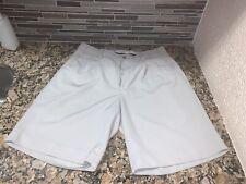 Pre-owned Alan Flusser Golf Shorts Size 32 Men's 100% Polyester