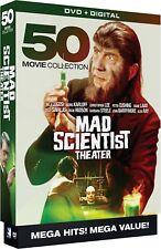 Mad Scientist Theatre: 50 Movie Collection (DVD, 10-Disc Set, Digital) - NEW!!