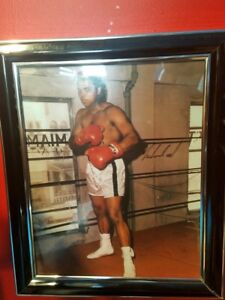 Muhammad Ali Heavyweight Boxing Champ Autographed 8x10 Photo AKA Clay RP