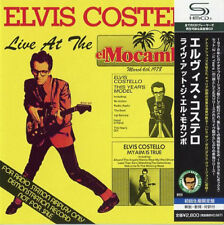 ELVIS COSTELLO, LIVE AT THE EL MOCAMBO, AUTH SHM-CD JAPAN, UICY-9430 (NEW)