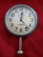 CLOCK - Antique Waltham 8 Day Car Clock