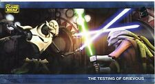 Star Wars Clone Wars Widevision Silver Stamped Parallel Base Card [500] #35