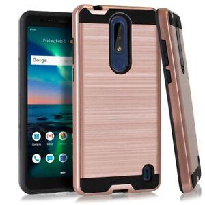 For Nokia 3.1 Plus TA-1124 / HMD 3.1 Plus Metallic Case Phone Cover
