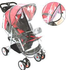 Transparent Rain Universal Buggy Pushchair Stroller Pram  Cover Baby New Years