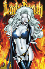 LADY DEATH, CHAOS RULES #1 HELLFIRE EDITION,  POSTER PRINT